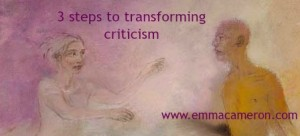 3 steps to transforming criticism