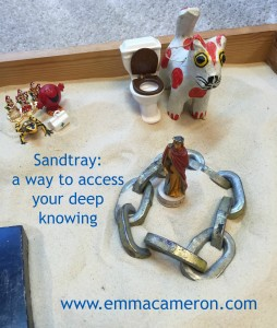 Sandtray is a Way to Access Your Deep Knowing