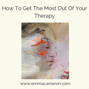 How to Get The Most Out Of Your Therapy