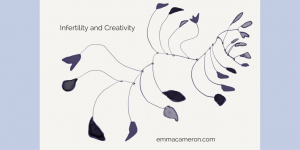 Infertility and Creativity drawing Based on Calder sculpture