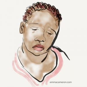 Woman feeling sad