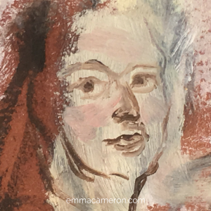 Painting of face: What is Art Therapy?