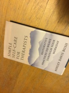 Book: Simple Self-Care for Therapists