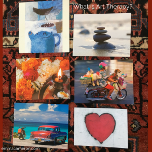What is Art Therapy? Postcards