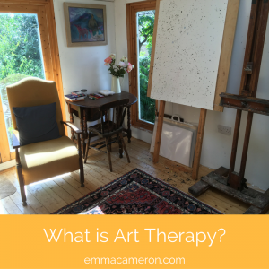 What is Art Therapy? Therapy room.
