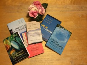 6 essential self-care books for therapists