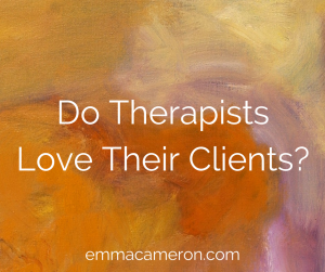 Do Therapists Love Their Clients?