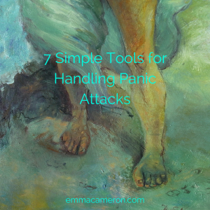 Attending to feet and legs is one of these 7 simple tools for handling panic attacks