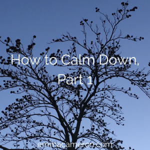 How to Calm Down – Tree Visualisation