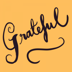 New Year's resolution - gratitude