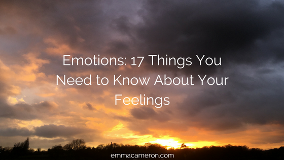 Emotions: 17 Things You Need to Know About Your Feelings. Image of darkening sky