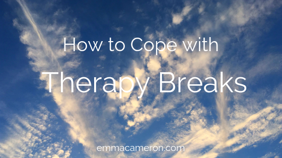 How to cope with therapy breaks counselling breaks