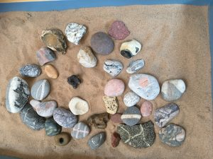 Stones can be used in psychotherapy supervision