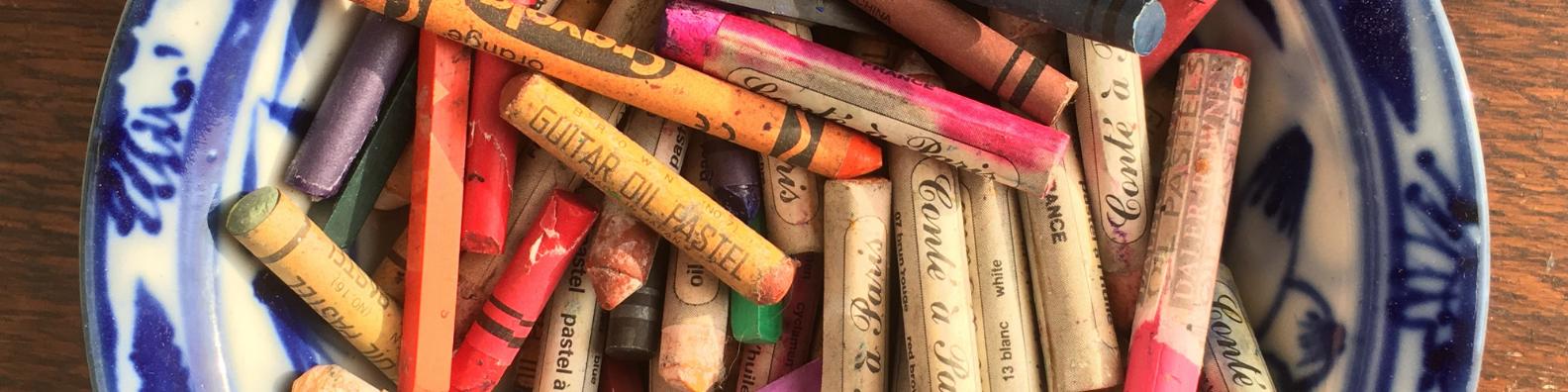 crayons Emma Cameron Art Psychotherapy