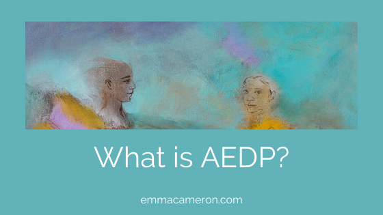 What is AEDP_Accelerated Experiential Dynamic Psychotherapy_ Painting ©Emma Cameron