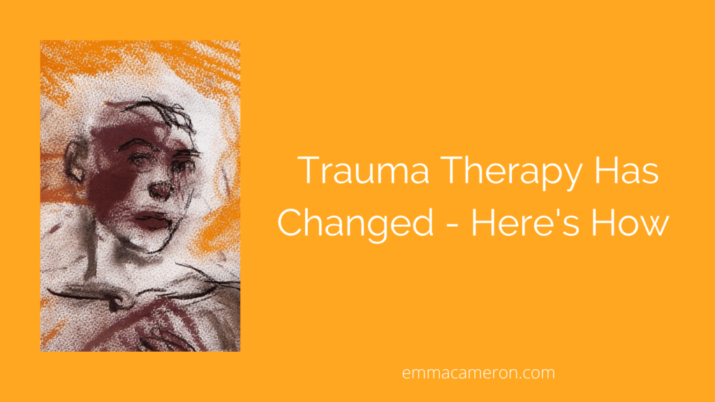 title image for trauma therapy has changed
